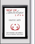 Dinsmore Graphics Receives 2008 Best of Antelope Award